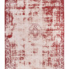 Webteppich Antique in beige-rot